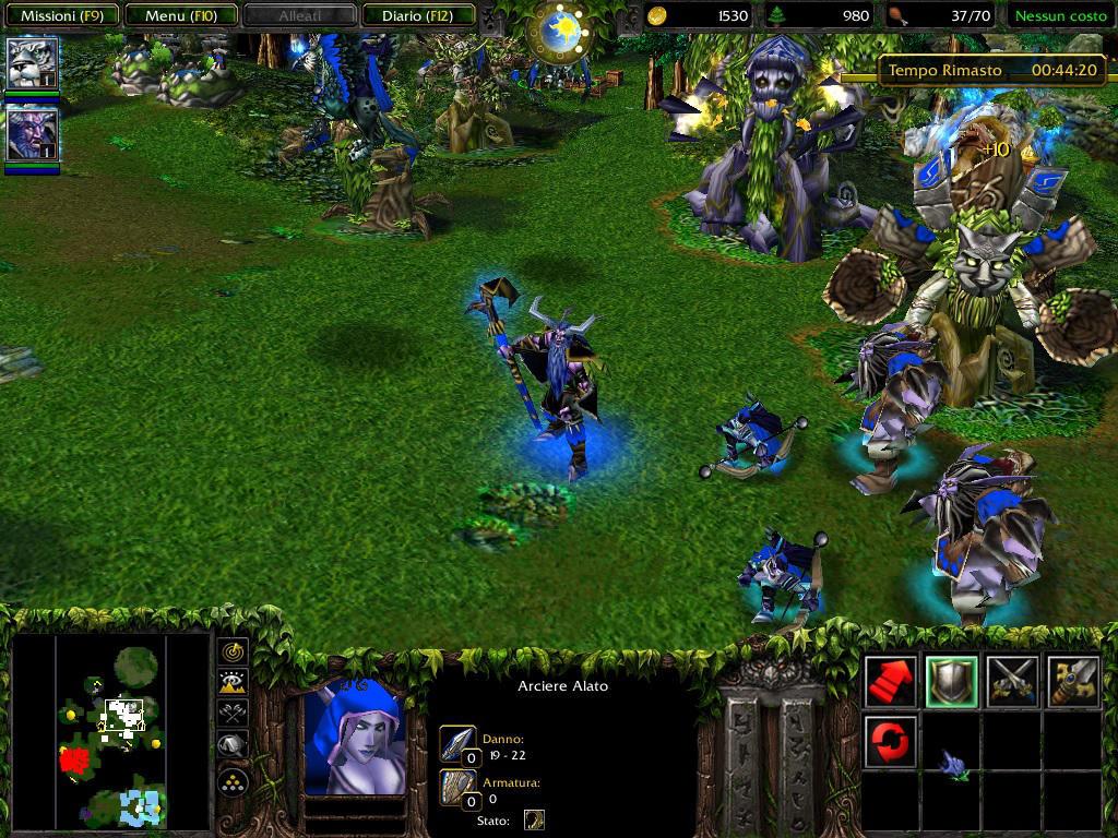 elfi della notte Warcraft III