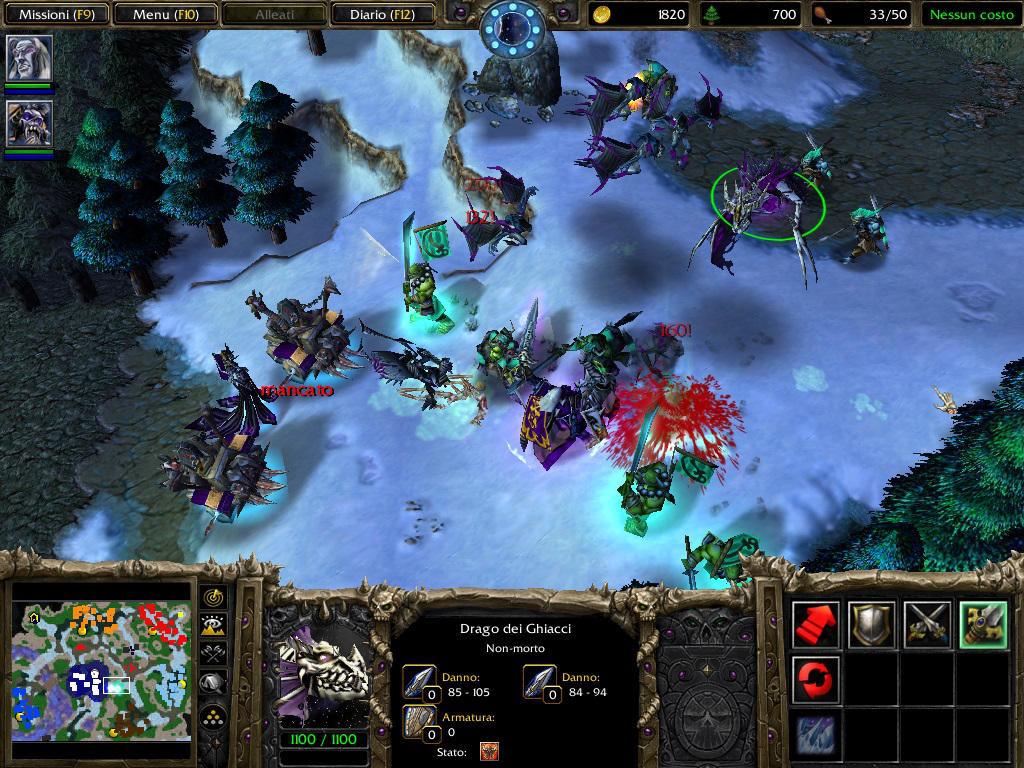 non morti warcraft III